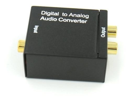 liqun digital óptica coaxial a rca adaptador de convertidor