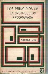 lira, gabriela. los principios de la instrucción programada.