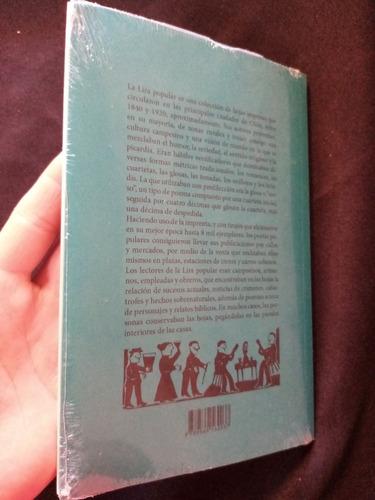 lira popular, antología. sellado, nuevo. garceta ediciones