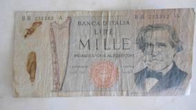 Billete 1000 Lire Mille Italia Billetes En Mercado Libre Venezuela