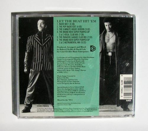 lisa lisa and cult jam let the beat hit'em cd importado 1991