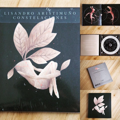 lisandro aristimuño constelaciones cd nuevo cerrado stock