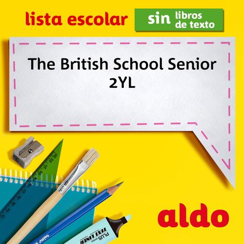 lista escolar the british school senior 2yl