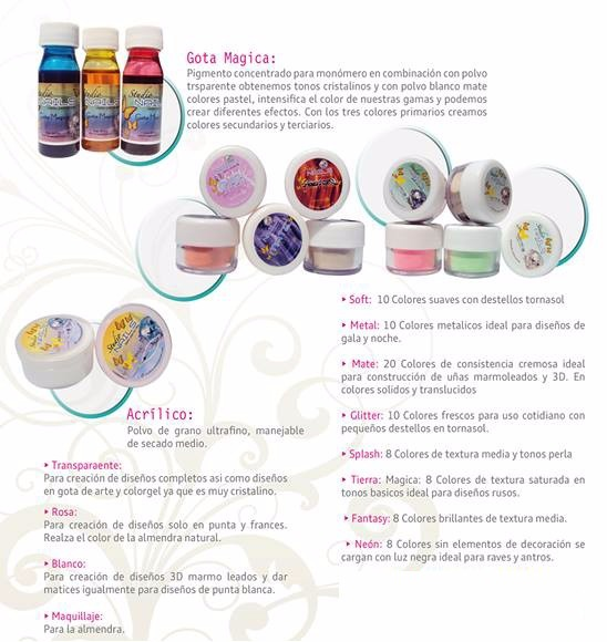 Lista Productos Stuadio Nails Mexico Uñas Acrilicas Gelish - $ 10.00 ...