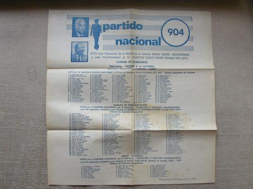 listas del partido nacional 904