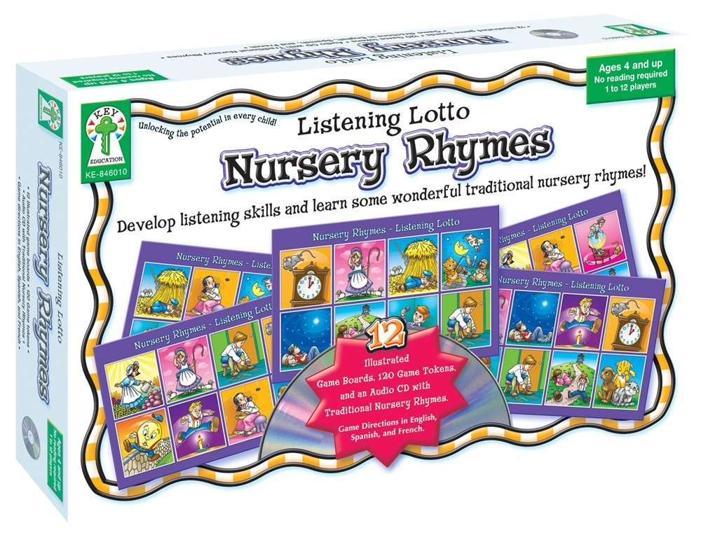 Listening Lotto Juego Mesa Educativa Rimas Infantiles 559 00 En