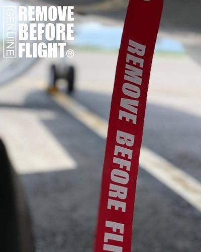 listón de seguridad 20x2pulg  remove before flight