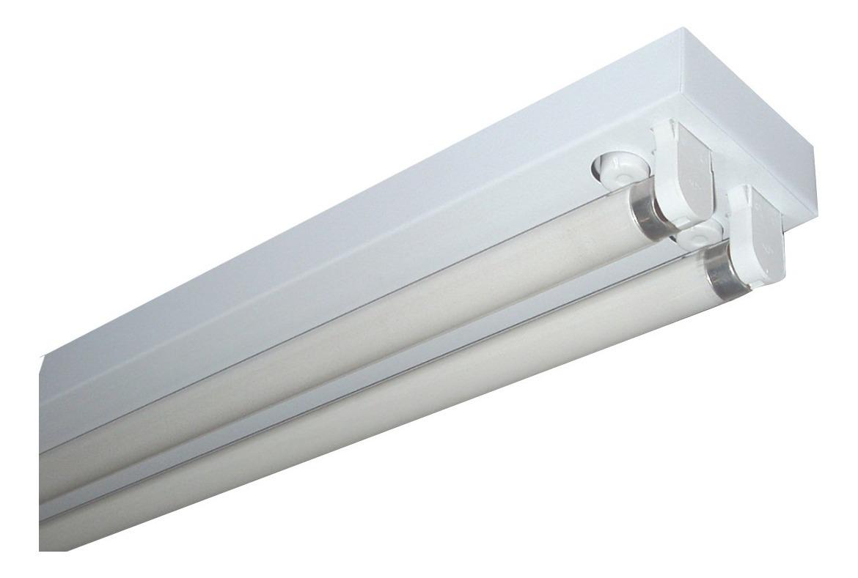 1 Lámpara W Led X 2 Tubo 18 20 Mts Completo Listón 8vNOn0wm