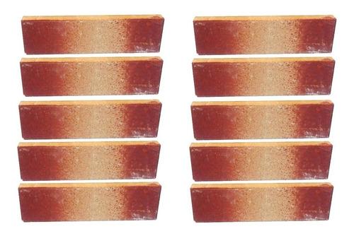liston refractario fara 2cm x 10unid para horno parrilla y hogar nº9