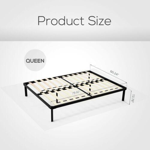 listones de metal de tamaño queen cama de plataforma ma-9371