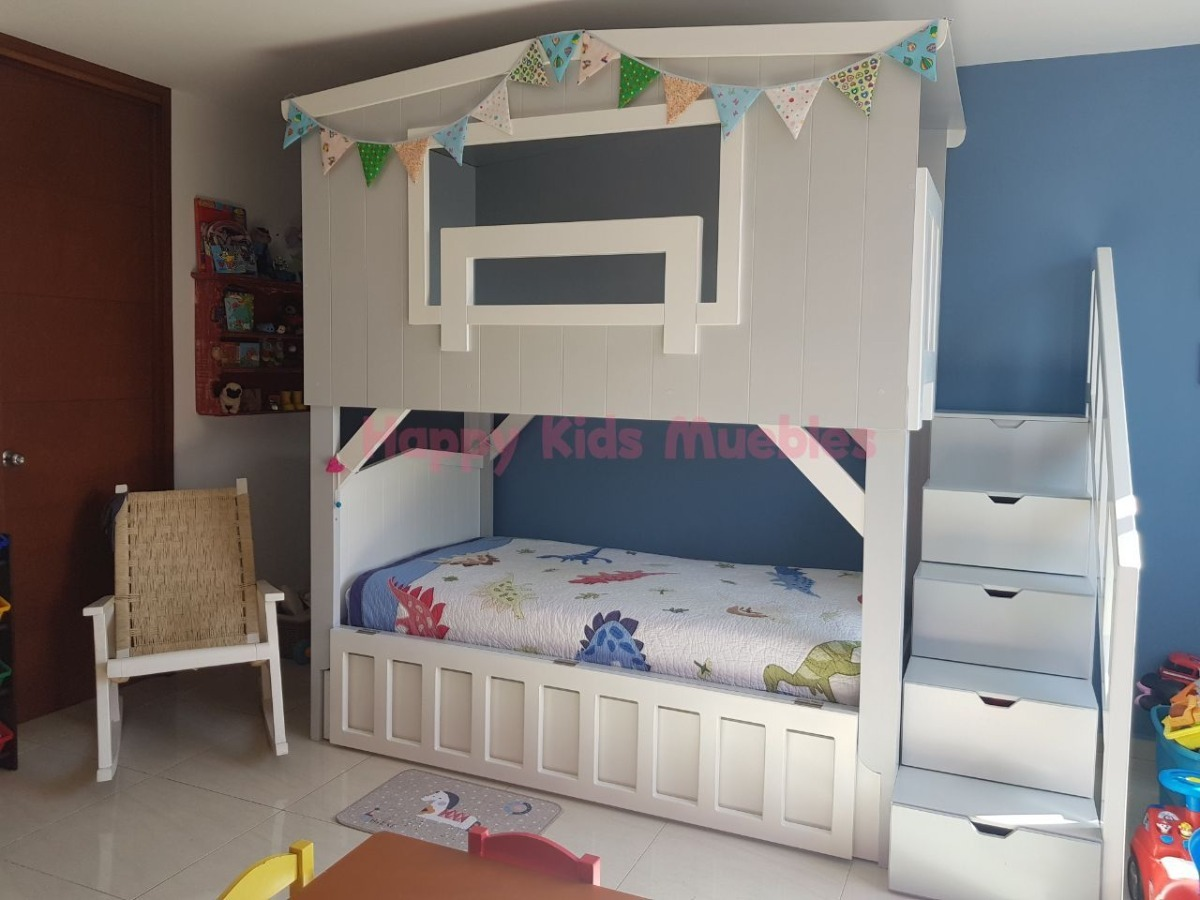 Litera Granero - Happy Kids Muebles!! - $ 24,800.00 en Mercado Libre
