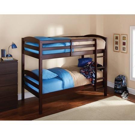 Litera individual en madera cama importada varios colores for Recamaras con camas individuales