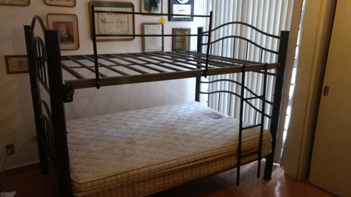 Litera matrimonial con opcion a dos camas matrimoniales - Cama matrimonial con litera ...