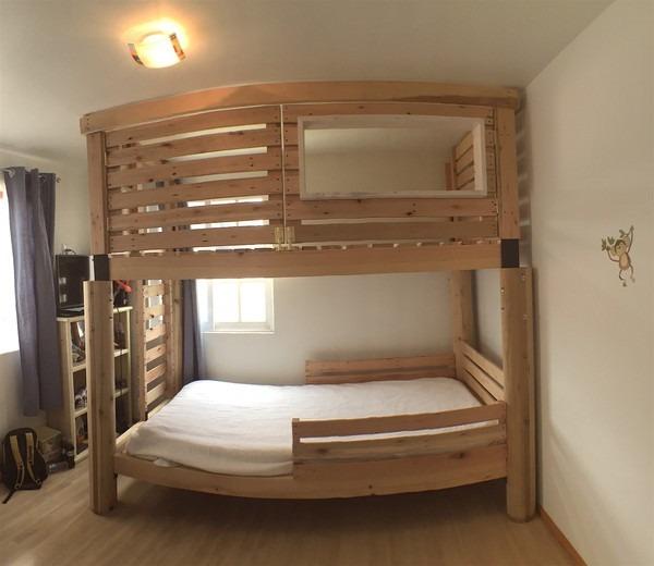 Litera para ni os 16 en mercado libre - Dormitorios con literas para ninos ...