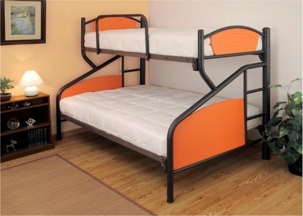 Literas camas minimalistas individual matrimonial mixta for Cama matrimonial con cama individual abajo