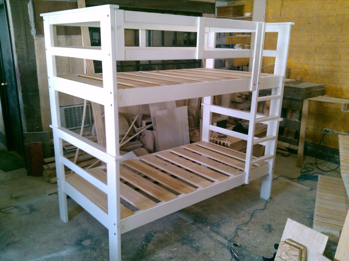 Literas de madera a precio de f brica 4 en for Casillas de madera precios