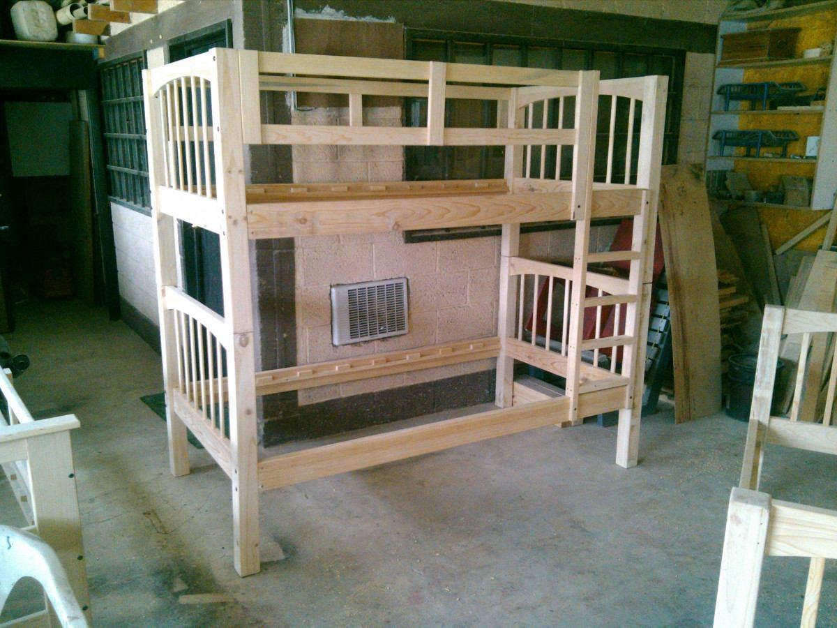 Literas de madera maciza 4 en mercado libre - Literas de madera maciza ...