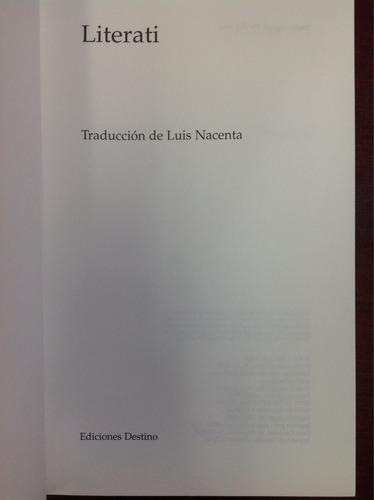 literati. barry mccrea. lit. inglesa. novela.