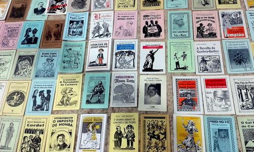 literatura de cordel - lote de 500 folhetos