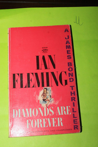 literatura en ingles  ian fleming diamonds are forever