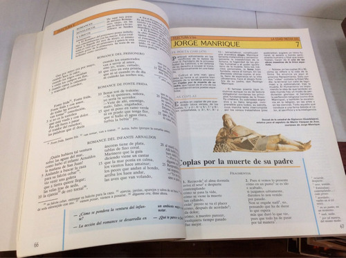 literatura española. fernando lázaro & vicente tusón.