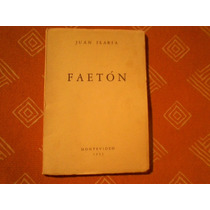Faetón, Juan Ilaria, Montevideo 1955, Poesía Uruguaya