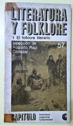 literatura y folklore  augusto raul cortazar selección
