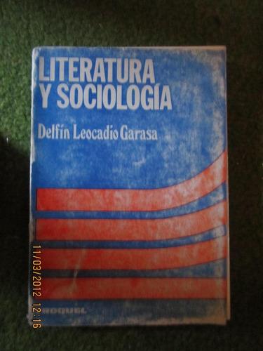 literatura y sociologia(delfin leocadio garasa)