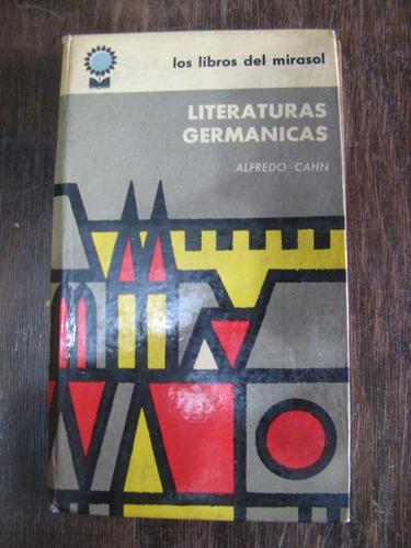 literaturas germánicas. alfredo cahn