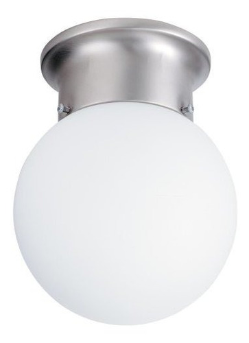 lithonia lighting 11980 bn m6 onelight fluorescente flushmou