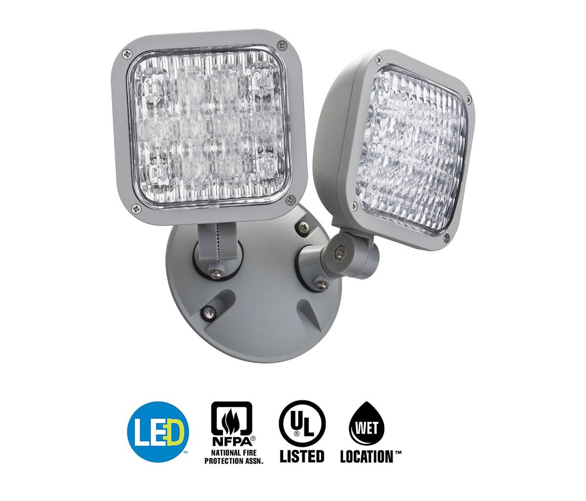 Lithonia Lighting Ela Led T Wp M12 Led Emergency Remote Doub 296 900 En Mercado Libre