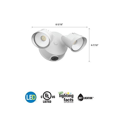 lithonia lighting ovfl led integrado 2rh 40k 120 pe wh m4
