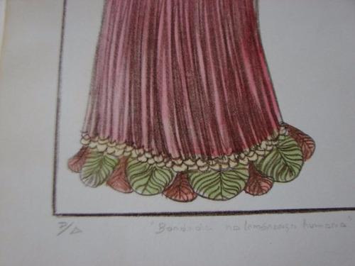 litografia - maty vitart 30x70 ag313