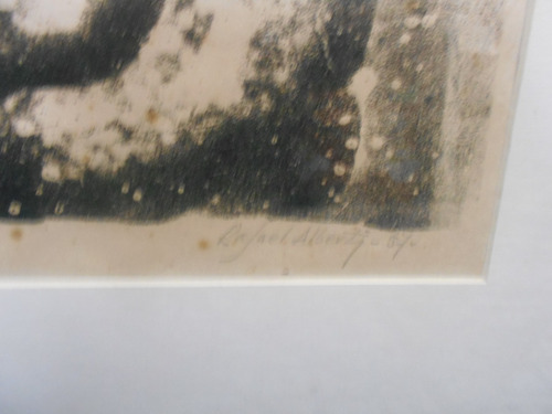 litografía rafael alberti