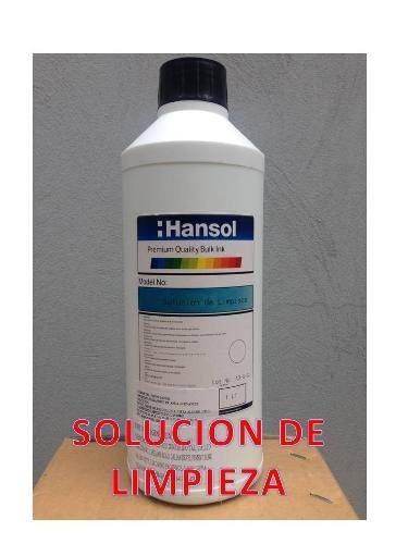 litro de solución destapa cabezal