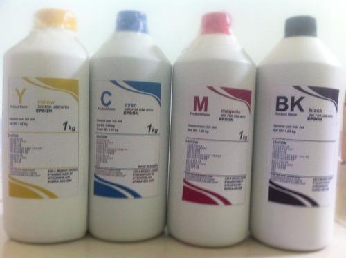 litro de tinta para epson ecotank l120 l220 l355 l555 l800