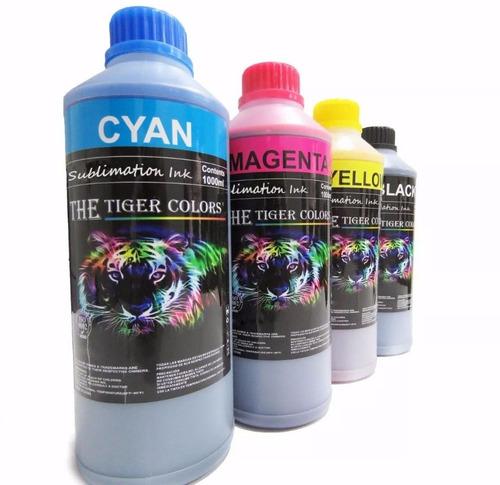 litro de tinta sublimacion cyan / azul epson