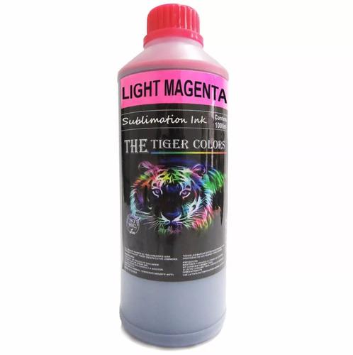 litro de tinta sublimacion light magenta / rojo claro epson