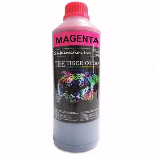 litro de tinta sublimacion magenta / rojo epson