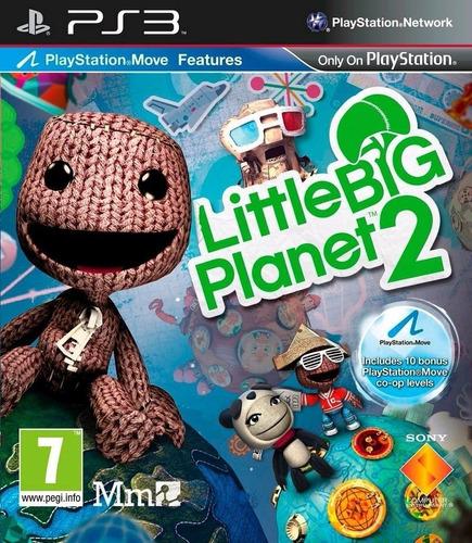little big planet 2 ps3 original entrega inmediata