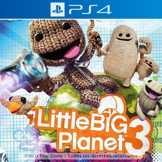 Little Big Planet 3 Espanol Juego Ps4 Nuevo Aventura Ninos 499
