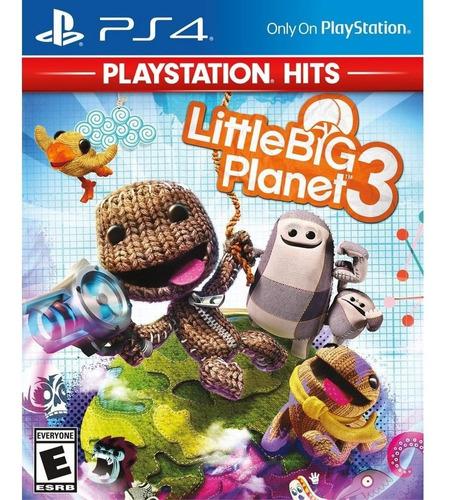 little big planet 3 - juego fisico ps4- #sniper.cl