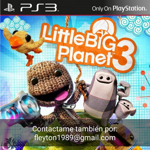 little big planet 3 juego ps3 digital paypal bitcoin