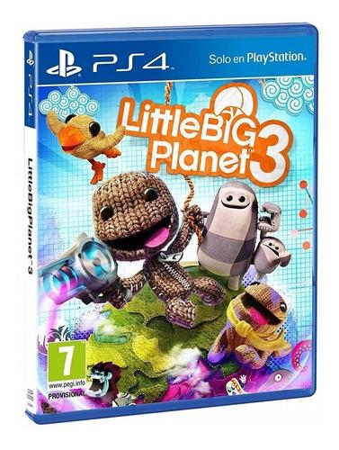 little big planet 3 ps4  nuevo disponible