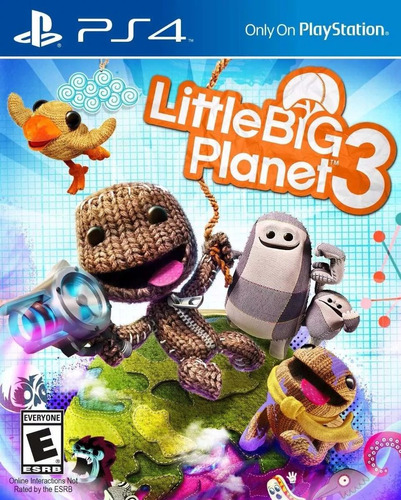 little big planet 3 ps4 playstation 4 sellado envío gratis!
