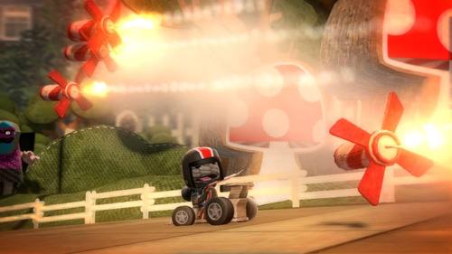 little big planet karting - playstation 3 digital promoción