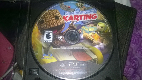 little big planet karting - ps3 - disco solo