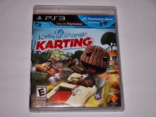 little big planet karting ps3 + envio gratis