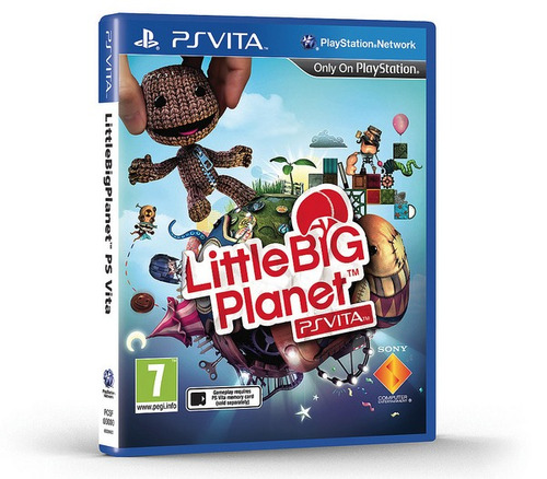 little big planet ps vita psvita original - lacrado e-sedex