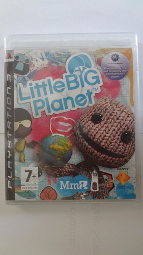 little big planet ps3 (black label) - novo e lacrado